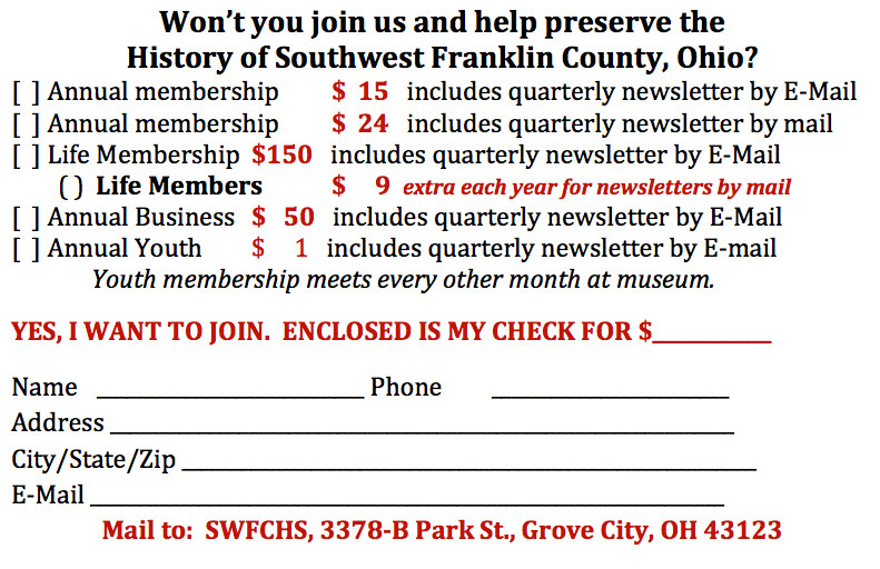 SWFCHS Membership Enrollment Form