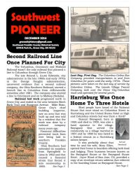 Southwest Pioneer December 2016 Cover