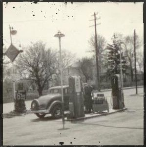 Grove City, OH - Old Gas Station