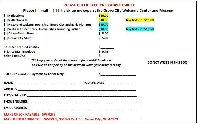 Publications Print Order Form