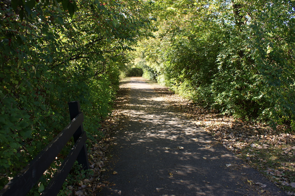Hiking trail at Gantz Park - Grove City, Ohio
