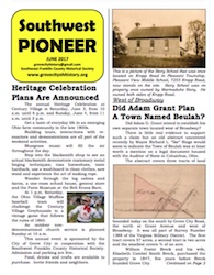 Southwest Pioneer June 2017 Cover