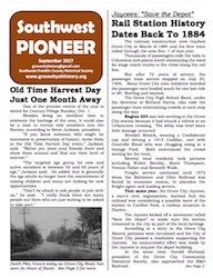 Southwest Pioneer September 2017 Cover