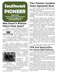 Southwest Pioneer March 2018 Cover