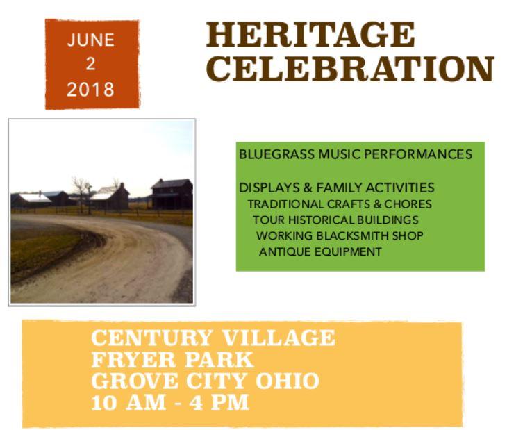 Heritage Celebration 2018 - Century Village
