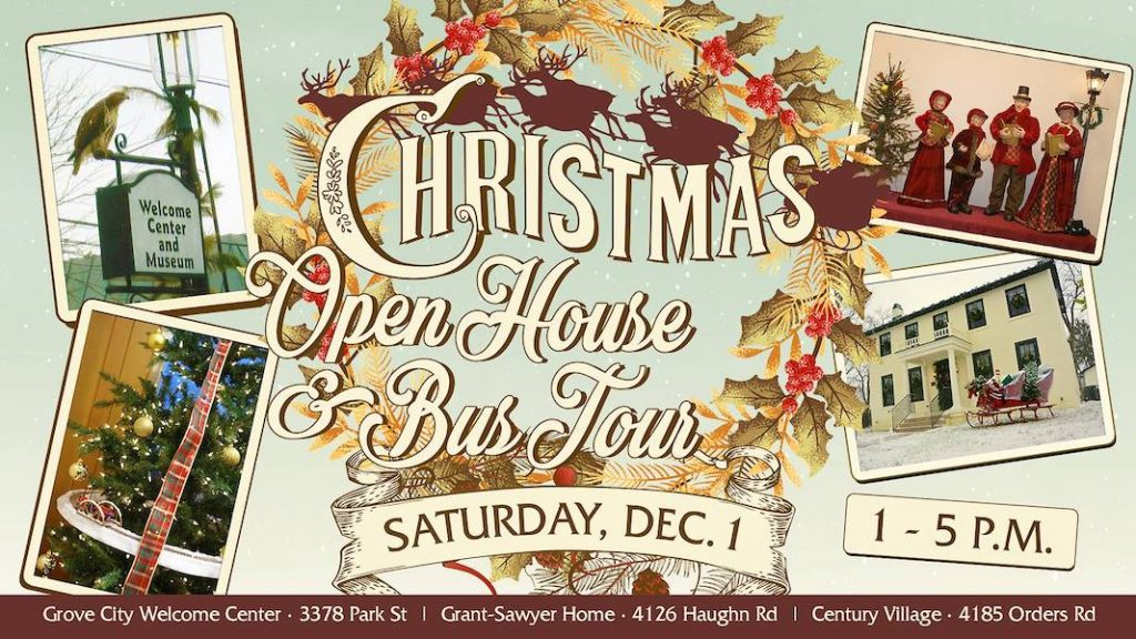 Grove City Christmas Open House and Bus Tour