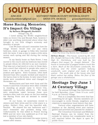 Grove City Southwest Pioneer June 2019 Cover