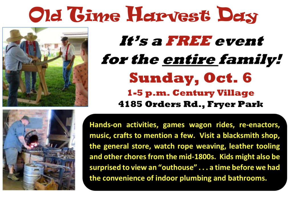 Grove City Old Time Harvest Day 2019