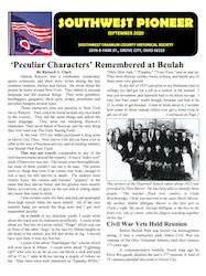 Southwest Pioneer September 2020 Cover