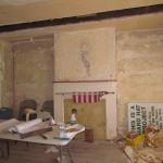 Interior room of the Grant Homestead House - Grove City, OH