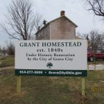 Grant-Sawyer Home, established in the 1840's Billboard - Grove City, OH