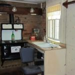 Interior photo of the Grant Homestead House kitchen - Grove City, OH