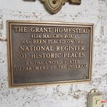 The Grant Homestead National Register of Historic Places Plaque - Grove City, OH