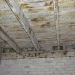Interior view of the Grant Homestead Carriage Building - Grove City, OH
