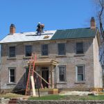 Putting new roof on the Grant-Sawyer Home