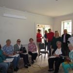 Southwest Franklin County Historical Society members in the Grant-Sawyer Home